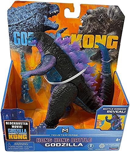 15 cm Anime Film Godzilla Vs King Kong Figur Lila Godzilla King...