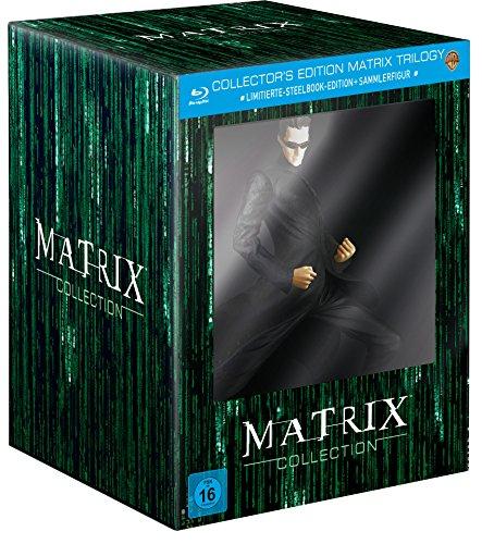 Matrix Trilogie (Collector's Edition inkl. Steelbook und...
