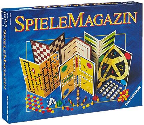 Ravensburger 26301 - Spiele Magazin, Spielesammlung mit vielen...