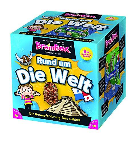 Brain Box 2094901 Rund um die Welt, Lernspiel, Quizspiel für...
