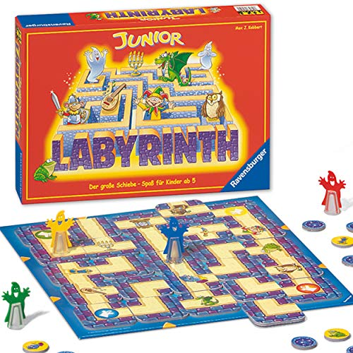 Ravensburger 21210 - Junior Labyrinth - Familienklassiker für...