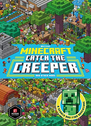 Minecraft: Catch the Creeper and Other Mobs: A Search and Find...