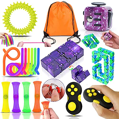 Yetech Anti Stress Spielzeug Set,Sensory Toy Set,Galaxy...