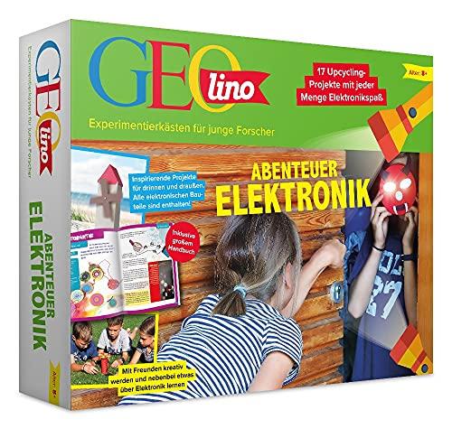 FRANZIS 67073 - GEOLINO Experimentierkasten Abenteuer Elektronik,...