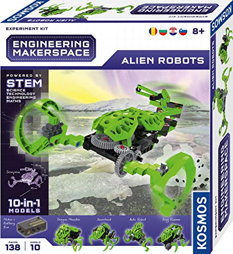 KOSMOS 616311 Engineering Makerspace - Alien Robots, 10...