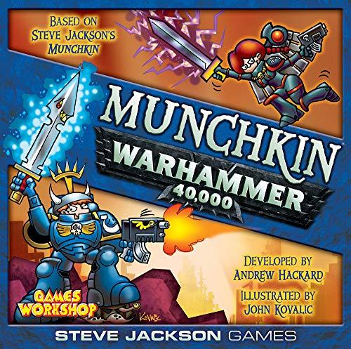 Steve Jackson Games 4481 - Munchkin Warhammer 40k (englische...