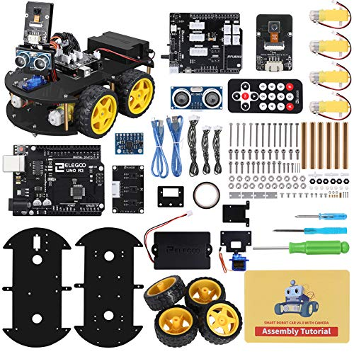 ELEGOO Smart Robot Car Kit V4.0 Kompatibel mit Arduino IDE...