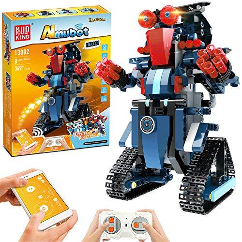 STEM Roboter Spielzeug Bausatz, 349-tlg Bausatz für...