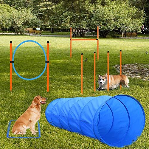 X XBEN Agility Ausrüstungs Set für Hunde, Hindernisse mit...