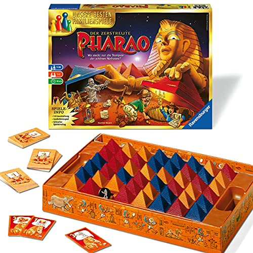 Ravensburger 26656 - Der zerstreute Pharao - Gesellschaftsspiel...