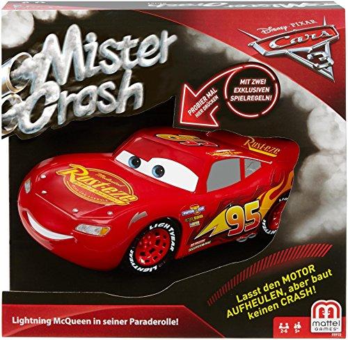 Mattel Games FFP69 Mister Crash, Kinderspiel geeignet für 2 - 6...