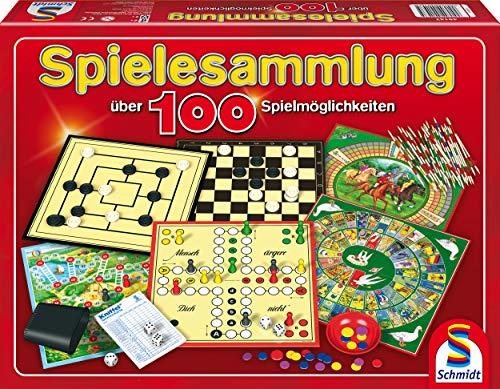 Schmidt Spiele 49147 Spielesammlung, mit über 100...