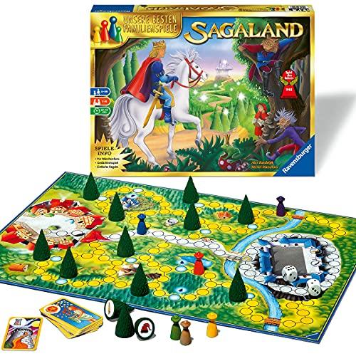 Ravensburger 26424 - Sagaland - Gesellschaftsspiel für Kinder...