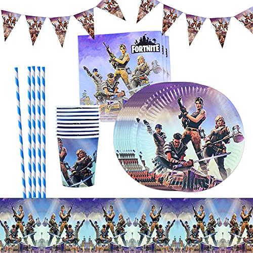 Yisscen Geburtstagsfeier Party Zubehör, 52 Stück Spiel...