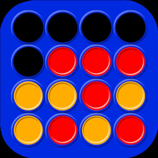 Vier Gewinnt - Klassische Brettspiel und Strategiespiel - 2...