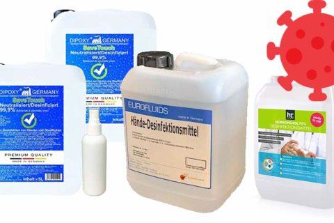 10 Liter Desinfektionsmittel