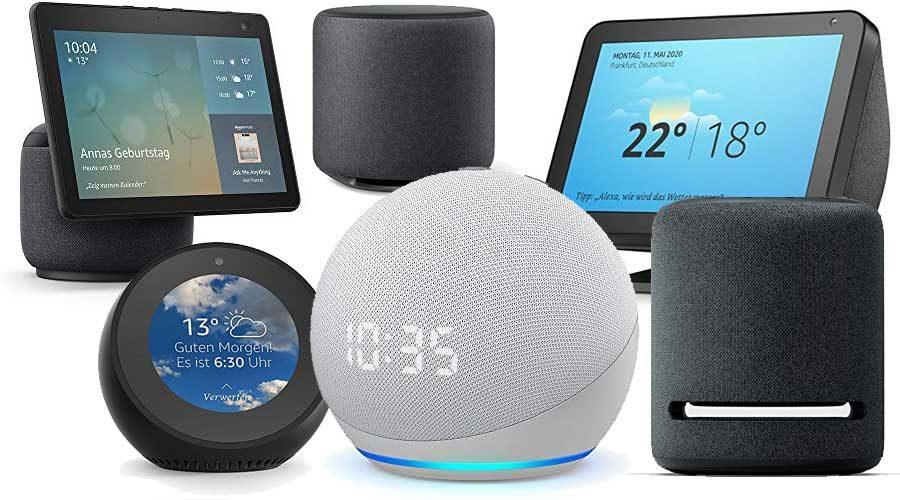 Amazon ECHO Geräte Neuheiten