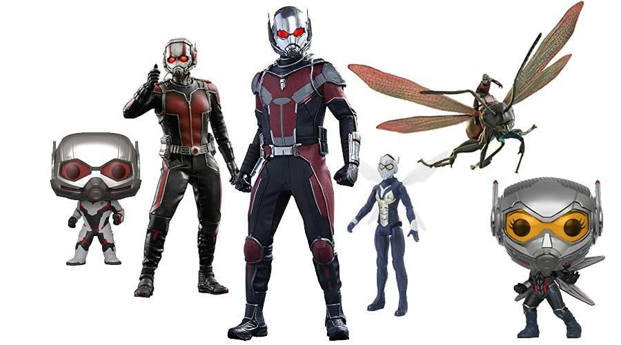 Ant-Man Figuren