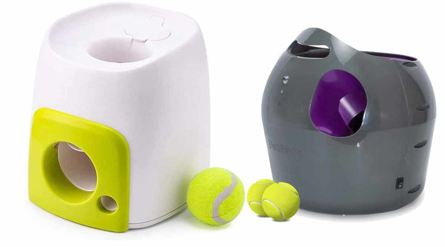 Ballwurfmaschinen für Hunde