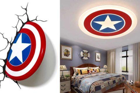 Captain America lampen