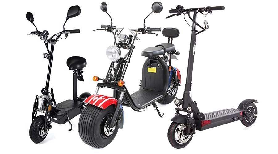 City-Scooter mit Elektromotor