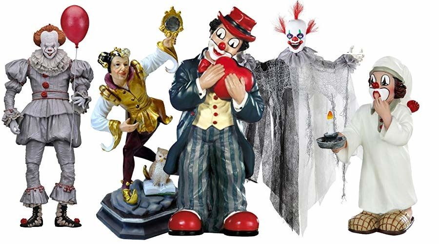 Deko Clown Figuren