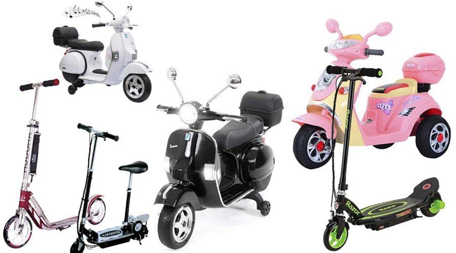 E-Scooter, Elektro-Motorroller für Kinder