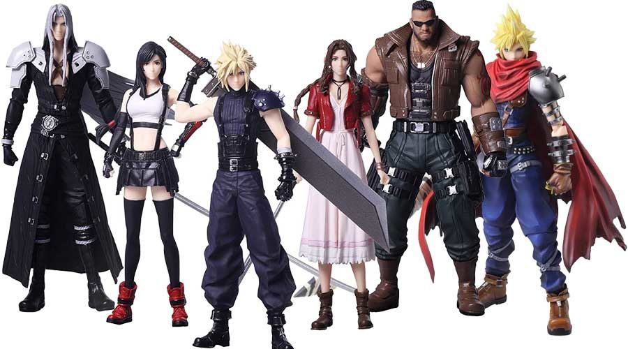Final Fantasy Actionfiguren