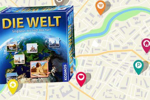 Geografie Quiz Spiel