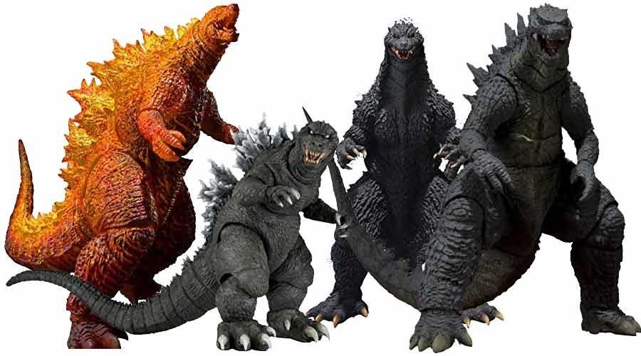 Godzilla Figuren