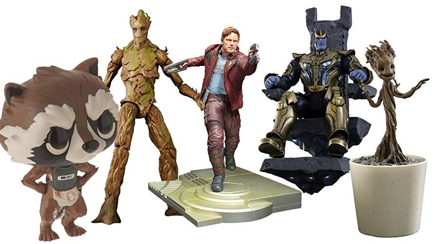 Guardians of the Galaxy Figuren