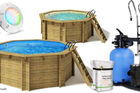 Paradies Pool Holzpool