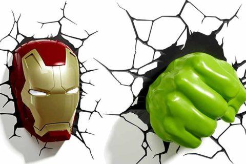 Marvel Avengers Lampe