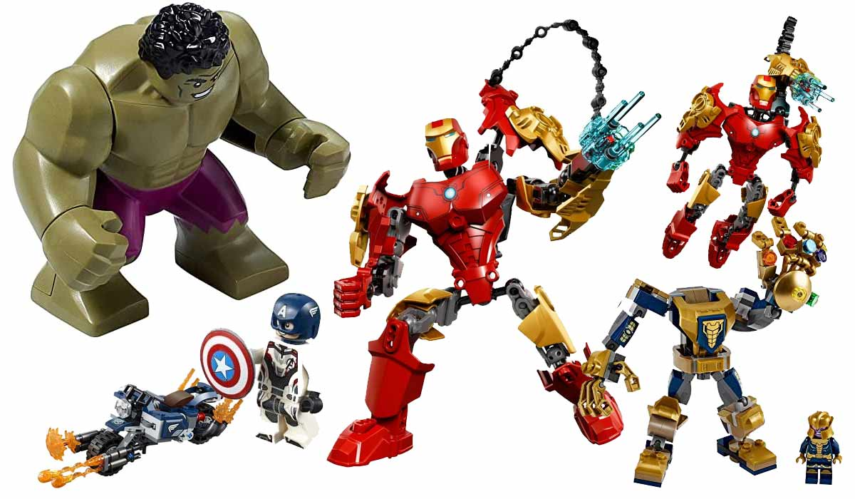 Marvel Avengers Sets von LEGO