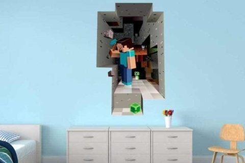 Minecraft Poster & Aufkleber