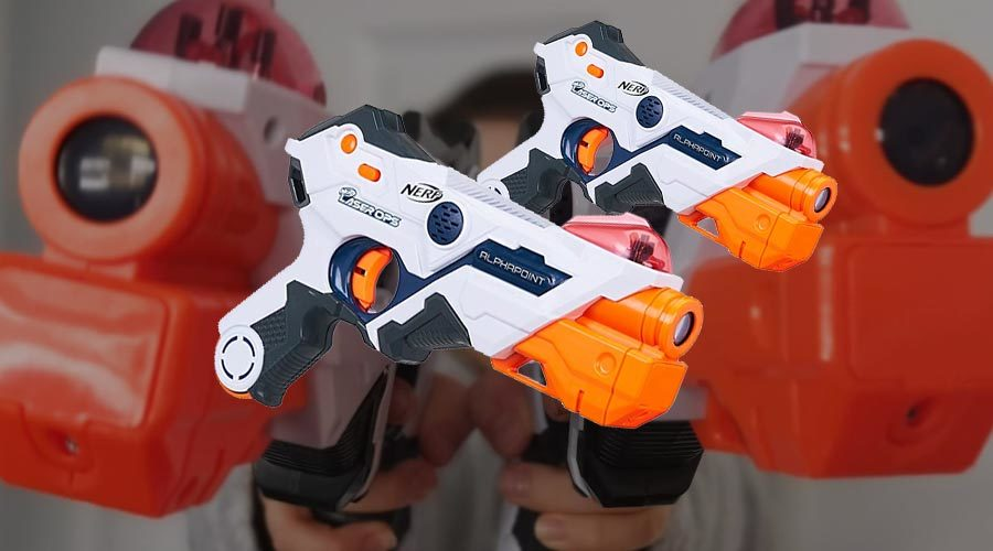 Nerf Ops Laser Set im Test
