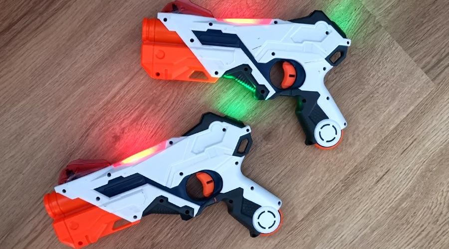 Nerf Ops Laser Set im Test