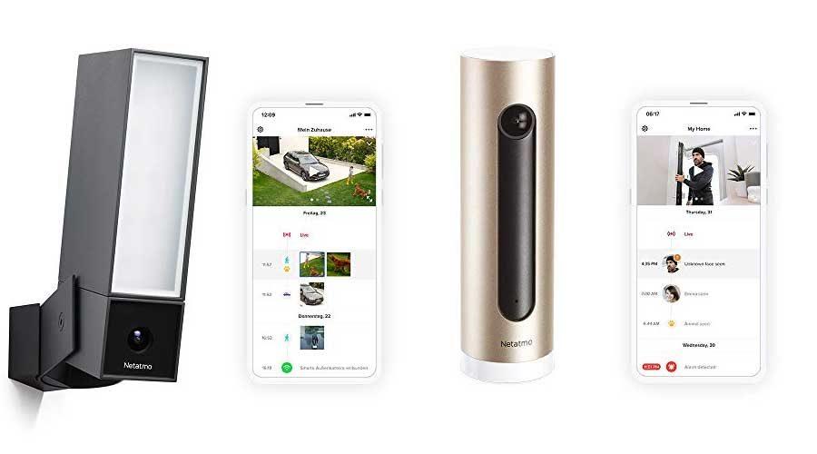 Netatmo smarte kamera