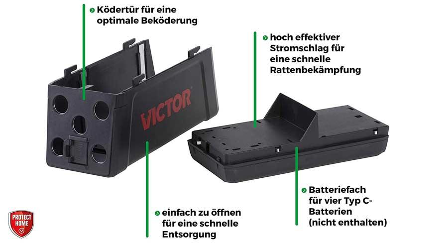 PROTECT HOME Elektro-Rattenfalle im Test
