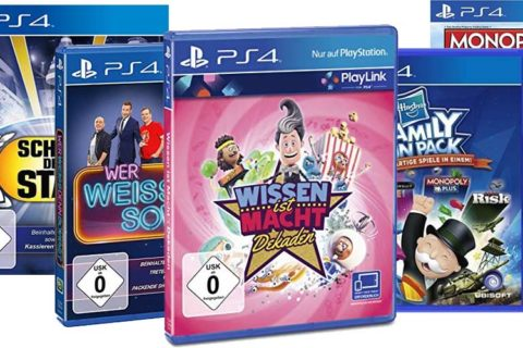 PS4 Gesellschaftsspiele