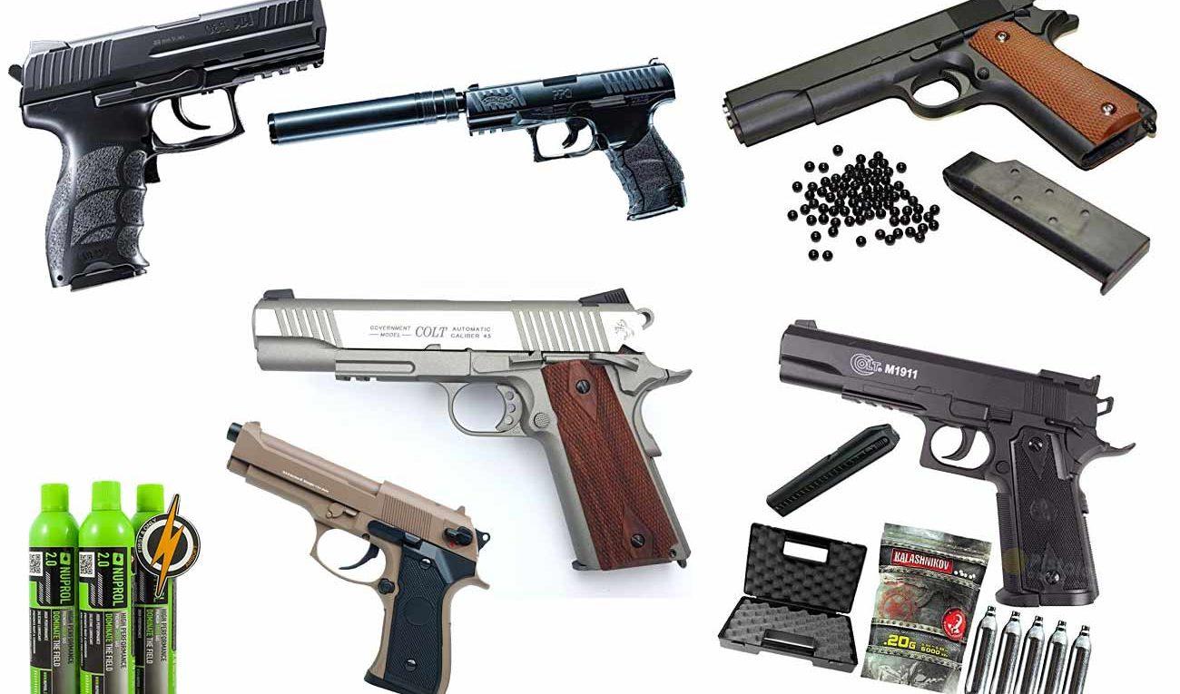 Softair Pistolen
