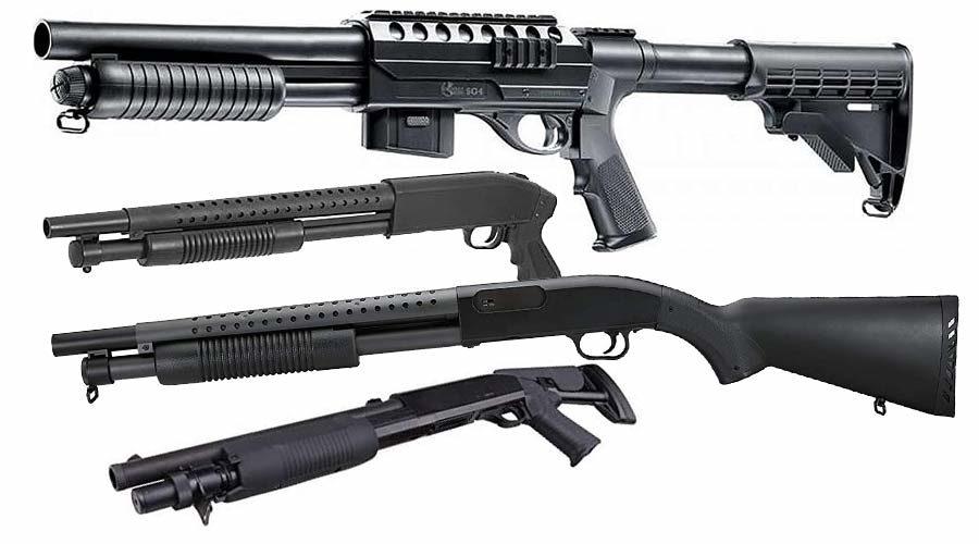 Softair Pumpgun Waffe
