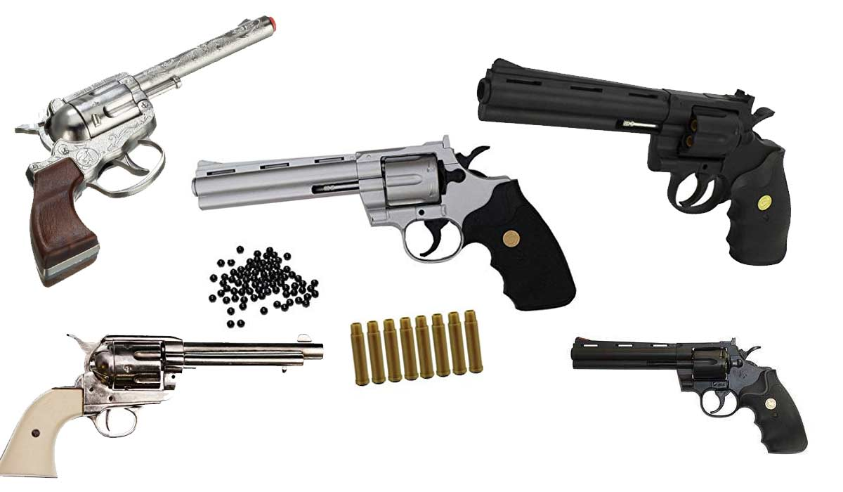Softair Revolver