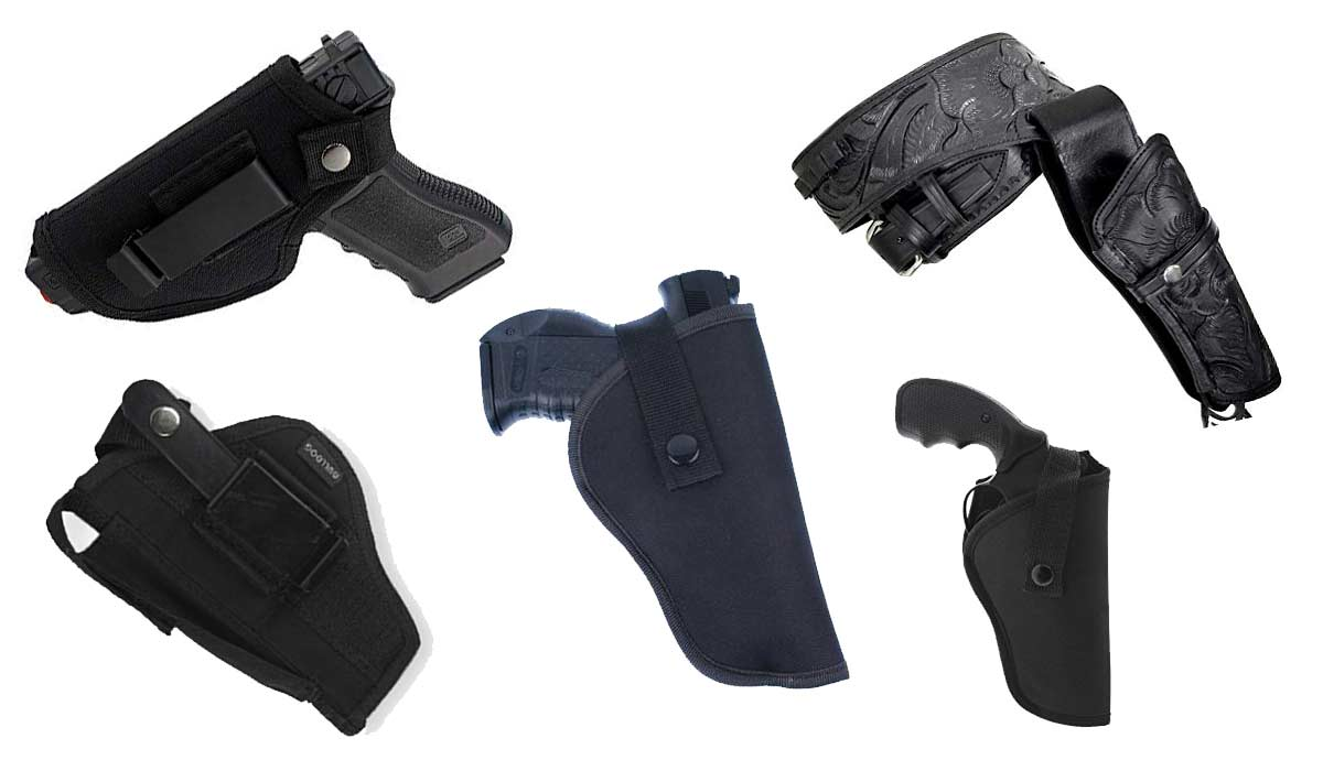 Softair Revolver Holster