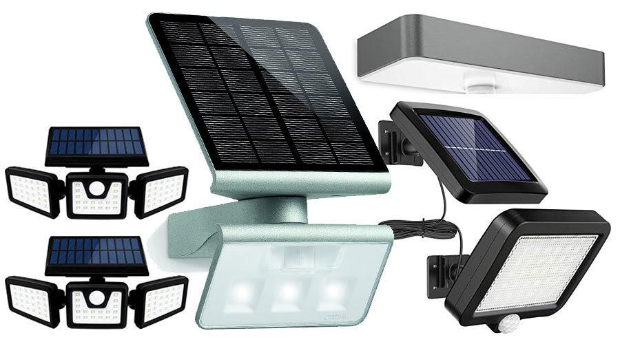 Solar Außenleuchten mit Bewegungsmelder