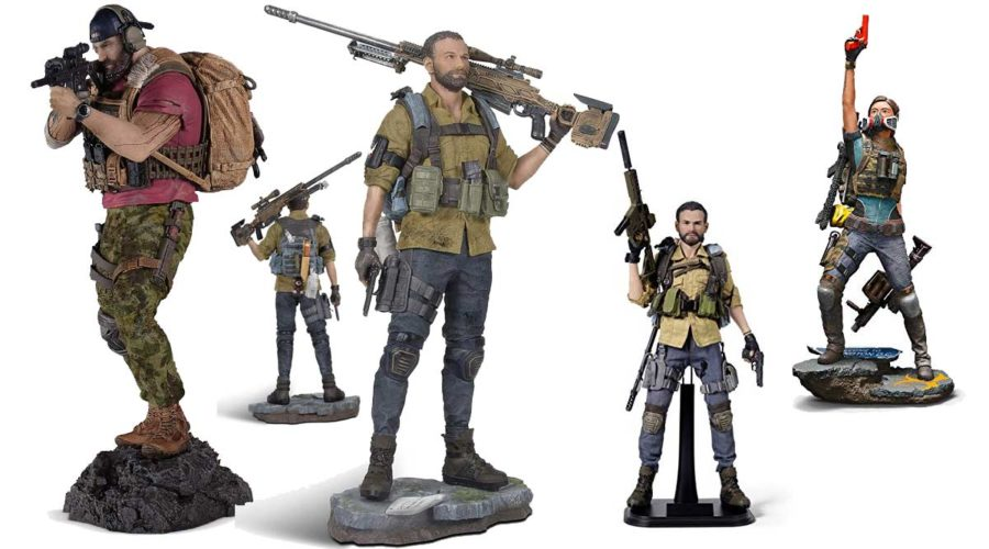 Actionfigur Tom Clancy's The Division Figuren