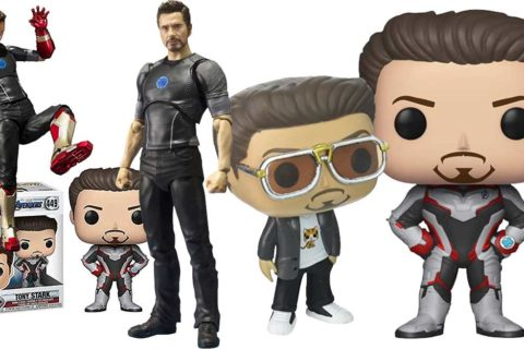 Tony Stark Actionfiguren