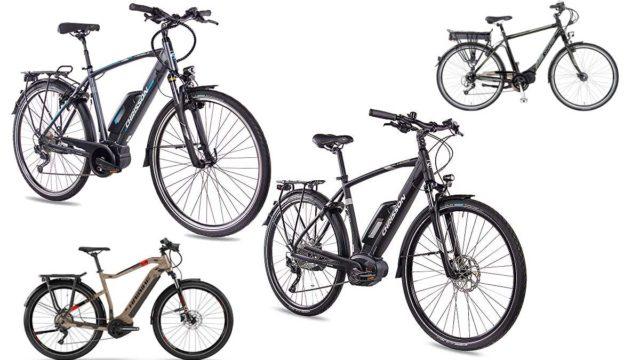Trekking Elektro-Fahrräder
