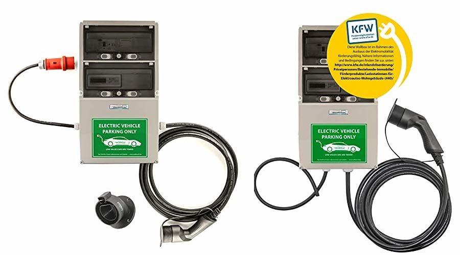 Wallbox mit Stromzähler