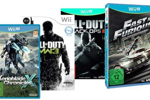 Wii-U Spiele